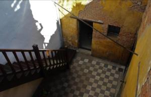 En esta imagen vemos el patio interno de la vivienda ubicada en el barrio de San Telmo.